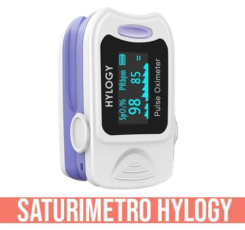 Pulsossimetro professionale Hylogy