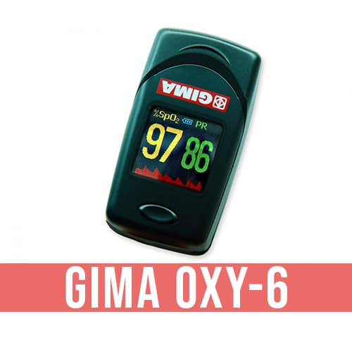 Saturimetro da dito GIMA OXY-6