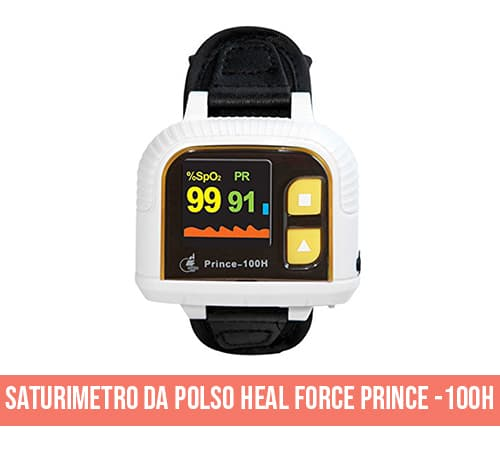Saturimetro da polso Heal Force Prince