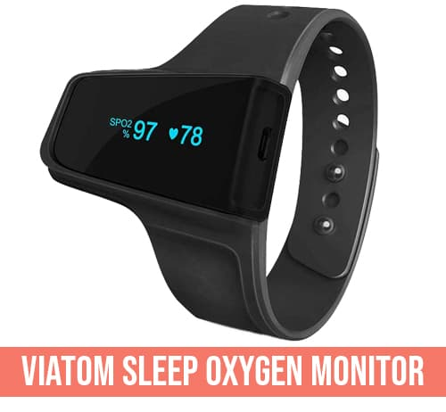 VIATOM Sleep Oxygen monitor saturimetro per apnee notturne