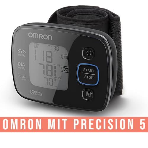 Misuratore di pressione da polso OMRON MIT Precision 5