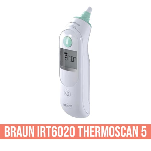 Termometro auricolare Braun IRT6020 ThermoScan 5