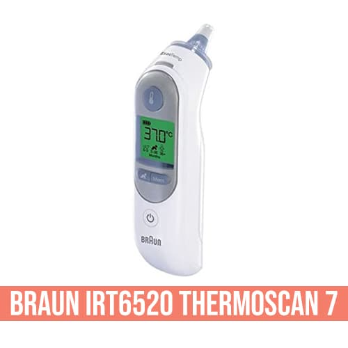 Termometro auricolare Braun IRT6520 ThermoScan 7