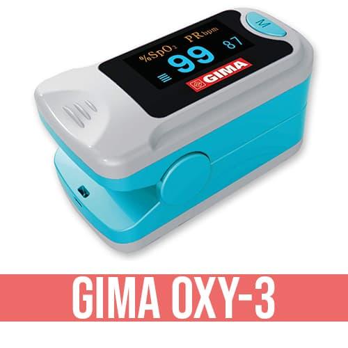 Saturimetro GIMA Oxy-3