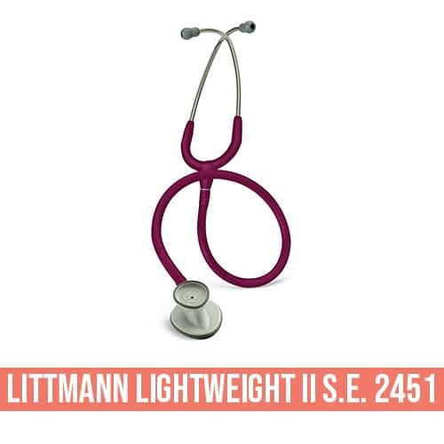 Stetoscopio Littmann Lightweight II S.E. 2451